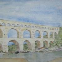Dit is een prachtig Romeins aquaduct.